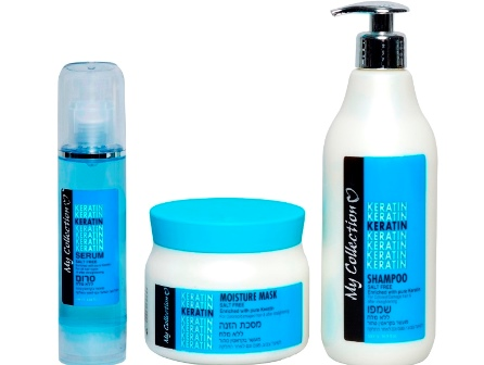 JOYA COLLECTION מציגה את סידרתKERATIN MY COLLECTION